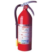 Kidde - Proplus Multi-Purpose Dry Chemical Fire Extinguishers - Abc Type Tri Class Tri Chemical Steel Cylndr Extinguisher: 408-468001 - tri class tri chemical steel cylndr extinguisher