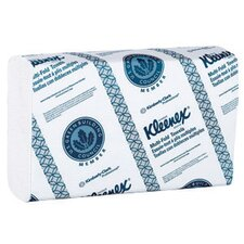 "X 9.4"" White KLEENEX® Multi-Fold Towels (150 Towels Per Pack)"