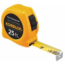 "Professional Series Power Tapes - 5/8""x12' yellow case steel power tape measure"