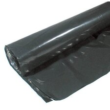 12' X 100' 6 ML Polyethylene Black Plastic Sheeting CF0612B
