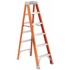 FS1500 Series Fiberglass Step Ladders - 4' fiberglass advent step ladder