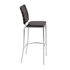 Carlsen Bar Chair in Brown