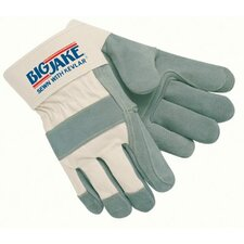 Heavy-Duty Side Split Gloves - big jake x-large doublepalm leather glove w/2-3