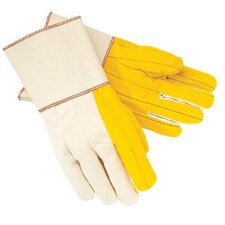 "Chore Gloves - 16 oz. golden fleece chore gloves w/4-1/2"" ga"