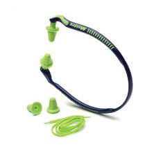 Band® Green NRR 25 Hearing Protector Band And Optional Breakaway Neck Cord (10 Per Box, 5 Boxes Per Case)