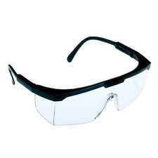 Squire™ Safety Glasses - the squire safety spectacle black frame