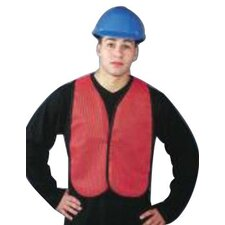 Economical Mesh Traffic Vests - x-large hi-viz orange traffic vest velcro clos