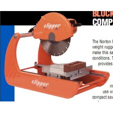 "15 Amp 3 HP 115 V 14"" Blade Capacity 14"" Blade Diameter BBM Mini Masonry Saw"