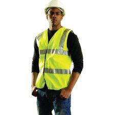 Class 2 Yellow Sleeveless Traffic Vest (Replaced By OCCSSFULLG-YL)