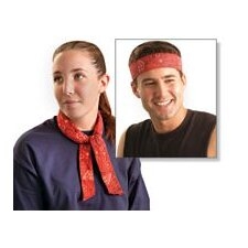 Size Fits All Cowboy Red MiraCool® Bandana