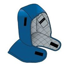 Blue Flame Resistant Nomex® Hot Rods® Shoulder Length Winter Liner With Modacrylic Padding And Proban® Cotton Backing