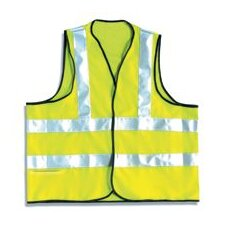 Hi-Viz Yellow OccuLux® Flame Retardant Vest With 3M™ Scotchlite™ Reflective Tape (ANSI Class 2)
