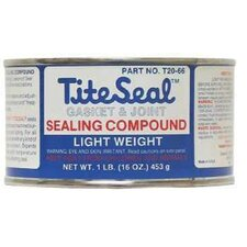 Tite Seal® Light Weight Gasket & Joint Sealing Compounds - 5lb.can gasket & joint compound titeseal  l