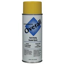 Rust-Oleum - Overall Economical Fast Drying Enamal Aerosols 830 10-Oz Gloss Yellow Overall Industrial: 647-V2409830 - 830 10-oz gloss yellow overall industrial