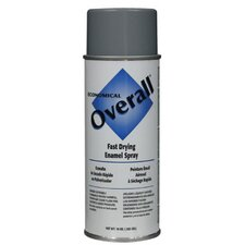 Rust-Oleum - Overall Economical Fast Drying Enamal Aerosols 830 10-Oz Gloss Machinegray Overall Ind: 647-V2413830 - 830 10-oz gloss machinegray overall ind