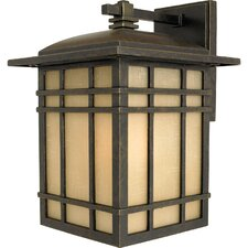 Hillcrest 1 Light Outdoor Wall Lantern