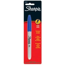 Sharpie - Sharpie Fine Point Permanent Markers Sharpie Blue Fine Tip Marker: 586-30103Pp - sharpie blue fine tip marker