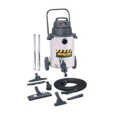 10-gallon Industrial Super Quiet  Stainless Steel GP Wet/Dry Vacuum