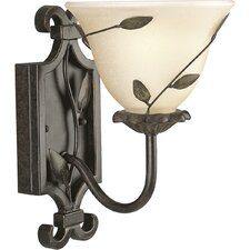 Eden Forged Bronze  Wall Sconce