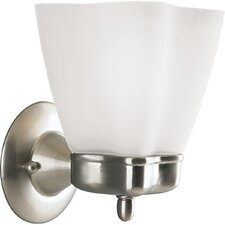 Michael Graves Wall Sconce in Brushed Nickel