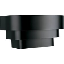 BlackTri Band Louver Wall Sconce