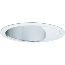 "7.75"" Alzak Wall Washer Recessed Trim in Clear Alzak"