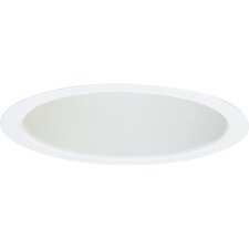 "8"" Open Baffle Recessed Trim in White"
