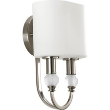 Splendid 2 Light Wall Sconce