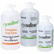 Eyesaline® Wall Station Refill Bottles - eyesaline 16 oz personaleyewash ready to use