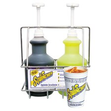 Kit (Includes): Wall Mount Basket One 6 Oz To 12 Oz Adjustable Cup Dispenser Two 1 Oz Pump Spouts And Two Tubes of 12 Oz Cups