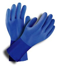 Anti-Oil PVC Lined Chemical Gloves