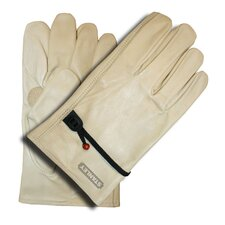 Grain Cowhide Driver Gloves with Ball and Tape Adjustment