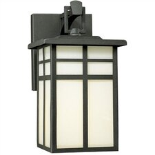 Mission 1 Light Outdoor Wide Wall Lantern