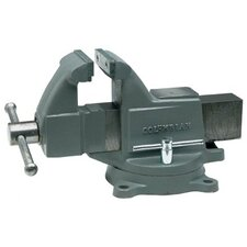 Columbian® Machinist's Vises - 504m3 machinist vise w/stationary base  colum