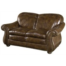Hanover Leather Loveseat