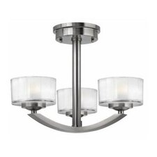 Meridian 3 Light Chandelier