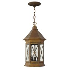 Brighton 3 Light Outdoor Hanging Lantern