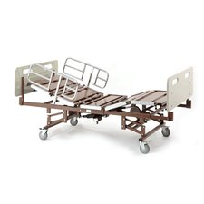 Bariatric Bed with Half Rails