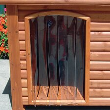 Outback Dog House Door in Clear