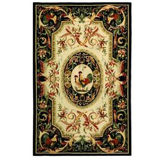 Chelsea Ivory/Black Novelty Rug