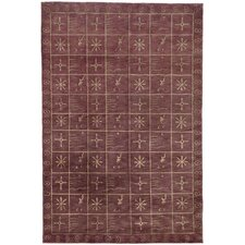 Tibetan Plum Pictogram Rug