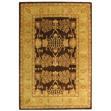 Bergama Brown/Green Rug