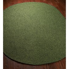 Braided Green Rug