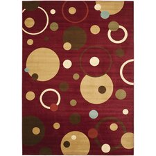 Porcello Red/Multi Rug