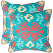Rye Polyester Decorative Pillow (Set of 2)