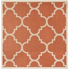 Courtyard Terracotta Rug