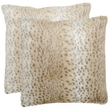 Snow Polyester Decorative Pillow (Set of 2)