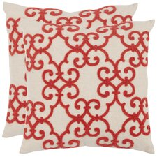 Sonya Cotton / Linen Decorative Pillow (Set of 2)