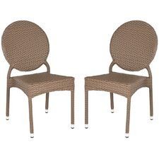 Valdez Stacking Dining Side Chair (Set of 2)