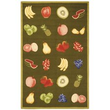 Chelsea Green Savoy Fruit Novelty Rug